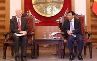 Bộ trưởng Nguyễn Ngọc Thiện tiếp Giám đốc Ngân hàng Phát triển Châu Á tại Việt Nam