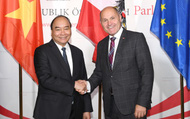 Việt Nam - Áo: Nhiều tiềm năng hợp tác về thương mại, đầu tư