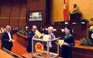 Quốc hội hoàn tất bỏ phiếu bầu Chủ tịch nước