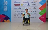 Đoàn thể thao người khuyết tật Việt Nam giành 1 HCV, 1 HCĐ trong ngày thi đấu đầu tiên
