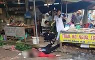 Người phụ nữ bán đậu bị bắn tử vong tại chợ