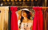 Hoa hậu Tiểu Vy mang khăn lụa Hội An đến Miss World 2018 quảng bá du lịch quê hương