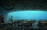 Nhà hàng dưới nước lớn nhất thế giới đã được đặt chỗ kín đến tận mùa hè sang năm dù… chưa mở cửa