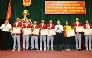 Tuyên dương trao thưởng cho vận động viên Hải Dương tham dự ASIAD 2018