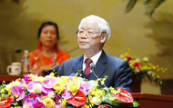 Toàn văn Bài phát biểu của Tổng Bí thư, Chủ tịch nước tại Đại hội Hội Nông dân