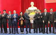 Ông Bùi Minh Châu giữ chức Bí thư Tỉnh ủy Phú Thọ