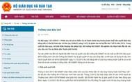 Bộ GD&ĐT không chấp nhận bản án Hội đồng xét xử đã tuyên ngày 14/12