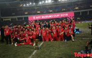"""HLV Park Hang-seo: """"Khoảnh khắc nâng Cup cùng các cầu thủ là lúc tôi hạnh phúc nhất"""""""