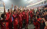 Clip: Khoảnh khắc tuyển Việt Nam ăn mừng kiểu Viking đầy xúc động sau khi lên ngôi vương tại AFF Suzuki Cup 2018