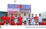 Sôi động giải bóng đá hữu nghị Đại sứ quán Việt Nam tại Campuchia 2018