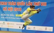 Hà Nội giành 3 Huy chương Vàng trong ngày thi đấu đầu tiên môn Wushu