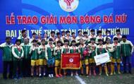 Đội Bóng đã nữ Tp Hồ Chí Minh lên ngôi vô địch