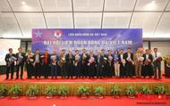 Toàn cảnh Đại hội Liên đoàn bóng đá Việt Nam khoá VIII
