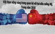 Việt Nam vững vàng trong quan hệ với hai siêu cường Mỹ, Trung năm 2018