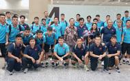 Đại sứ Việt Nam tại Indonesia đón Đội tuyển Việt Nam