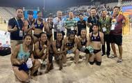 Đội tuyển Bóng ném bãi biển nữ Việt Nam giành quyền vào Bán kết Đại hội thể thao bãi biển thế giới lần thứ nhất