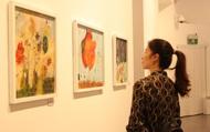 """34 tác phẩm """"mơ mộng và bay bổng"""" của hai họa sĩ trẻ"""