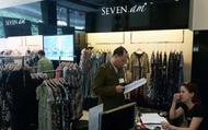 Hơn 9.000 sản phẩm của hãng thời trang SEVEN.AM bị tạm giữ