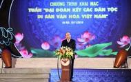 """Thủ tướng Nguyễn Xuân Phúc: """"Truyền thống đại đoàn kết, trên dưới một lòng đã làm nên sức mạnh vô bờ bến cho dân tộc Việt Nam"""""""