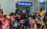 Hà Nội: Bệnh nhi ồ ạt nhập viện do cúm mùa