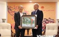 Giao lưu với HLV Park Hang-seo cùng 4 tuyển thủ Việt Nam ở Hàn Quốc