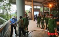 Chấn chỉnh công tác phòng cháy, đảm bảo an toàn mùa lễ hội tại khu Di tích Yên Tử