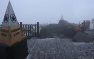 Tuyết bất ngờ rơi trắng xóa trên nóc nhà Đông Dương