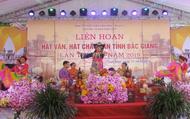 Liên hoan hát Văn, hát Chầu văn tỉnh Bắc Giang: Nhiều tiết mục xuất sắc đã được trao giải thưởng