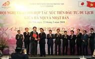 Hà Nội tổ chức Hội nghị xúc tiến đầu tư, du lịch với Nhật Bản vào cuối tháng 3