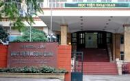 Mới: Học viện Ngoại giao bao gồm 15 đơn vị trực thuộc