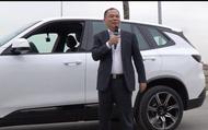 Chủ tịch Phạm Nhật Vượng sau khi lái thử chiếc xe đầu tiên đã tuyên bố điều này