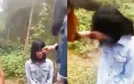 Video: Nhóm nữ sinh tát, bắt học sinh lớp 7 quỳ gối xin lỗi