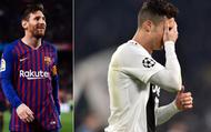 """Messi phản ứng """"ngầu"""" trước bước ngoặt trong cuộc ganh đua Quả bóng Vàng với Cristiano Ronaldo"""