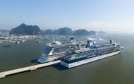 Cảng tàu du lịch quốc tế Hạ Long tiến tới đón tiếp cả khách quốc tế và nội địa