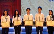 Cả nước có 2.278 thí sinh đoạt giải trong Kỳ thi chọn học sinh giỏi quốc gia