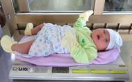 Bé trai cân nặng 5kg vừa chào đời tại Bệnh viện đa khoa Quảng Ninh