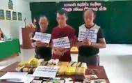 Bắt 3 đối tượng, chặn đứng 100.000 viên ma túy chuẩn bị tuồn vào Việt Nam