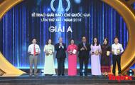 Toàn cảnh Lễ trao Giải Báo chí Quốc gia lần thứ 13 - 2018