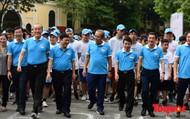 """Hàng ngàn người dân thủ đô tham dự cuộc thi """"Đi bộ vì sức khỏe"""""""
