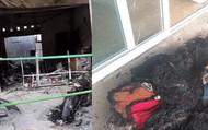 Nghệ An: Mẹ đơn thân bị kẻ lạ ném bom xăng trong đêm, cửa hàng bị cháy rụi