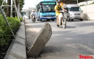 Hà Nội: Xuất hiện Nhiều cạm bẫy ẩn mình trên công trường đường Phạm Văn Đồng
