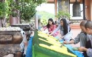 Theo chân hot girl Trang Hime khám phá Vân Đồn