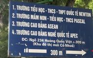 GS Nguyễn Minh Thuyết: Tăng cường giám sát trường gắn mác quốc tế chứ đừng cấp phép rồi làm ngơ