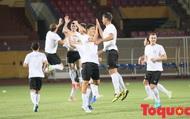 """ĐT Turkmenistan thu nhỏ tập bài """"cực dị"""" trước thềm đại chiến, Hà Nội FC cẩn thận ăn cú lừa đắng"""