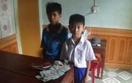 Nhặt được hơn 16 triệu đồng, 2 học sinh tìm trả lại người đánh rơi