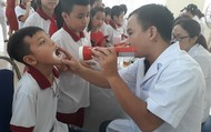 Sau vụ cháy nhà máy Rạng Đông: Khám miễn phí cho khoảng 1.700 học sinh