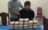 Bắt giữ nam thanh niên cùng 60.000 viên ma túy tại biên giới Việt - Lào