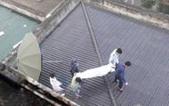 Nam bệnh nhân tử vong trên mái nhà bệnh viện Hữu Nghị đa khoa tỉnh Nghệ An