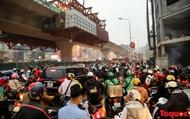 Hà Nội: Ám ảnh ùn tắc trên trục đường Trường Chinh những ngày giáp Tết