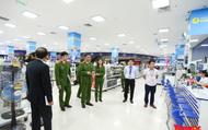 Phát hiện nhiều vi phạm về an toàn PCCC tại đại siêu thị Aeon Mall Long Biên